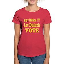 Let Duluth Vote Women's T-Shirt 2