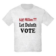 Let Duluth Vote Kids T-Shirt