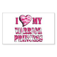 I Sway Heart My Warrior Princ Rectangle Sticker 1