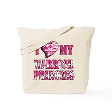 I Sway Heart My Warrior Princ Tote Bag