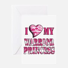 I Sway Heart My Warrior Princ Greeting Card