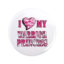 "I Sway Heart My Warrior Princ 3.5"" Button"