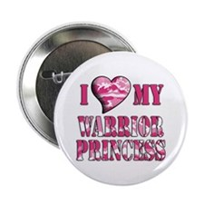 """I Sway Heart My Warrior Princ 2.25"""" Button (10 pac"""