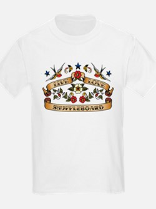 Live Love Shuffleboard T-Shirt