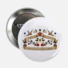 """Live Love Shuffleboard 2.25"""" Button (100 pack)"""