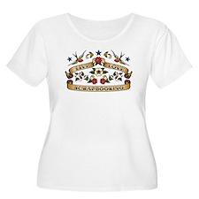 Live Love Scrapbooking T-Shirt