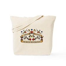 Live Love Scrapbooking Tote Bag