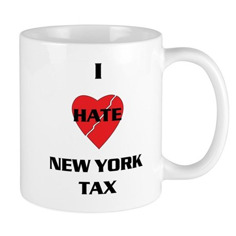 NY On line tax Sucks Mug