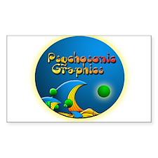 psychologo Rectangle Decal