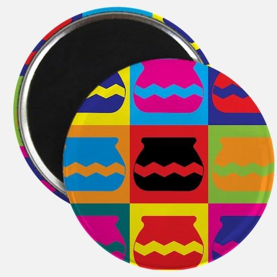 Pottery Pop Art Magnet