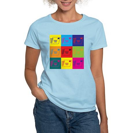Postal Service Pop Art Women's Light T-Shirt