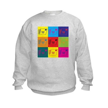 Postal Service Pop Art Kids Sweatshirt