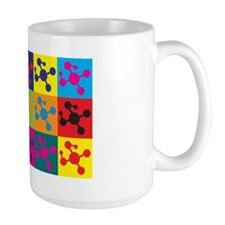 Polymer Chemistry Pop Art Mug