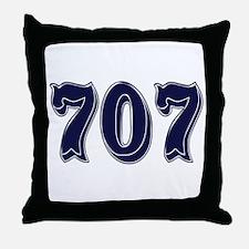 707 Throw Pillow