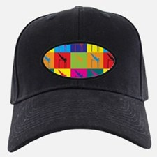 Pole Vaulting Pop Art Baseball Hat