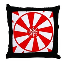 Sun Circle Throw Pillow