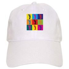 Podiatry Pop Art Baseball Cap