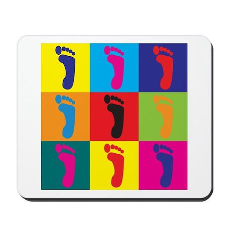 Podiatry Pop Art Mousepad