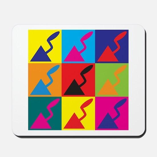 Plaster Pop Art Mousepad