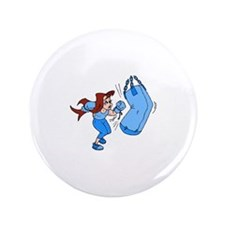 """Blue Punch! 3.5"""" Button (100 pack)"""