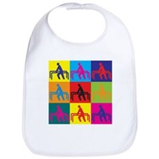 Physical Therapy Pop Art Bib