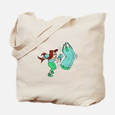 Green Punch! Tote Bag