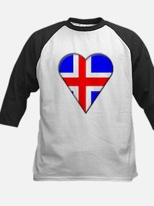 Iceland Heart-Shaped Flag Tee