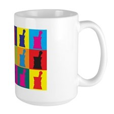 Pharmacology Pop Art Mug