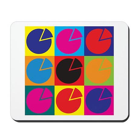 Pensions Pop Art Mousepad