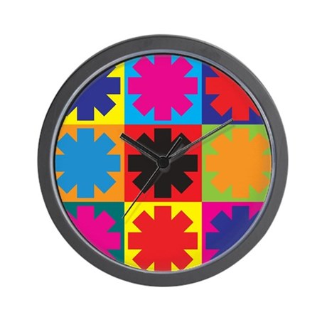 Paramedic Work Pop Art Wall Clock