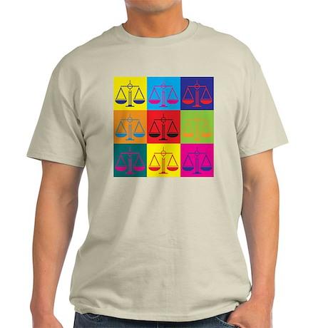 Paralegal Work Pop Art Light T-Shirt