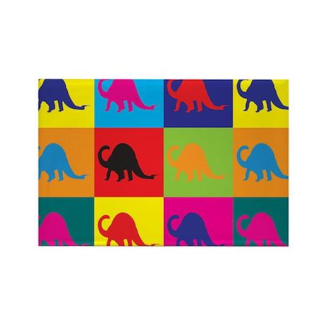 Paleontology Pop Art Rectangle Magnet (10 pack)