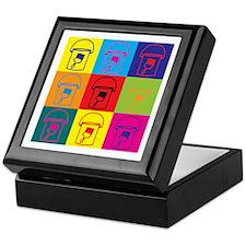 Painting Pop Art Keepsake Box