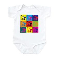Paintball Pop Art Infant Bodysuit