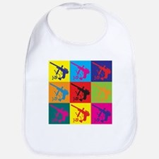 Paintball Pop Art Bib