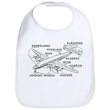 Aeroplane Diagram Bib