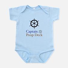 Captain Poop Deck Infant Bodysuit