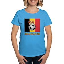 Belgium Football Tee