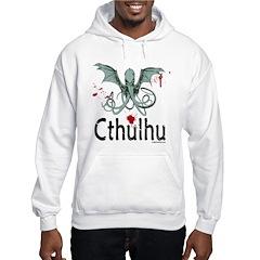 Cthulhu head vector Hoodie