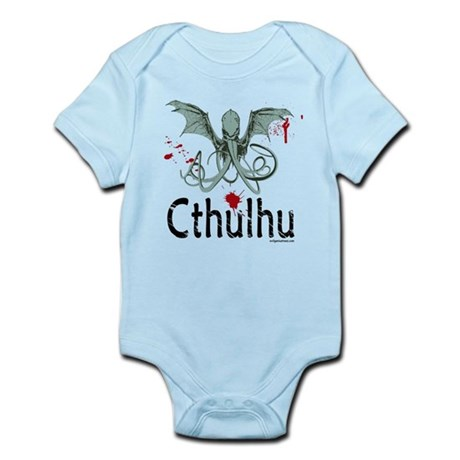 Cthulhu head vector Infant Bodysuit