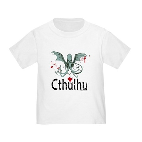 Cthulhu head vector Toddler T-Shirt