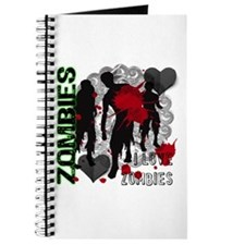 Zombies, I love zombies Journal