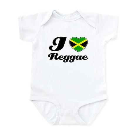 I love Reggae Infant Bodysuit