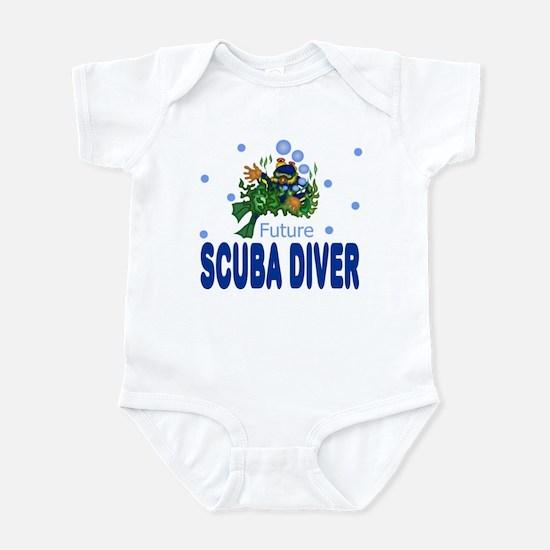 Future Scuba Diver Baby Toddler Infant Bodysuit