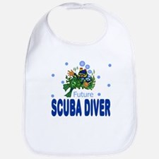 Future Scuba Diver Baby Infant Toddler Bib