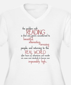 The Problem with Reading T-Shirt