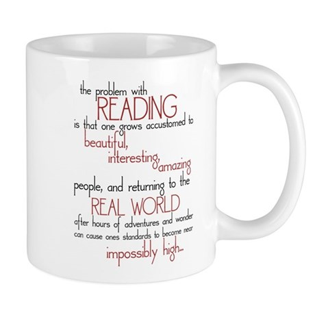 The Problem with Reading Mug