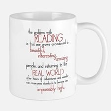 The Problem with Reading Small Small Mug