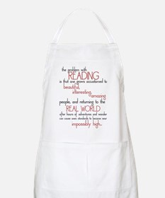 The Problem with Reading BBQ Apron