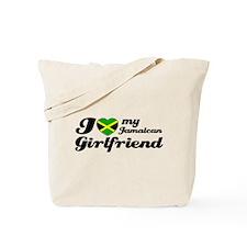 I love my Jamaican Girlfriend Tote Bag